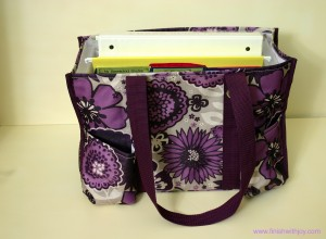 Making a Mobile Office with Thirty One & Giveaway