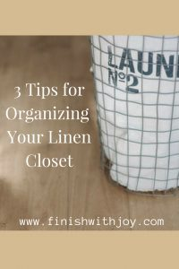 3 Tips for Organizing Your Linen Closet
