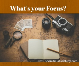 Motivation Monday: What's Your Focus