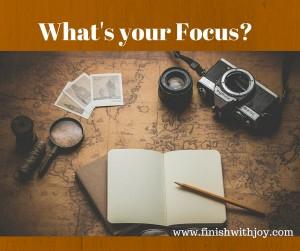 Motivation Monday: What's Your Focus