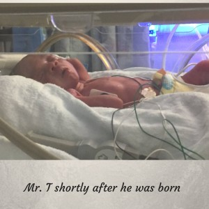Mr. T shortly after he was born