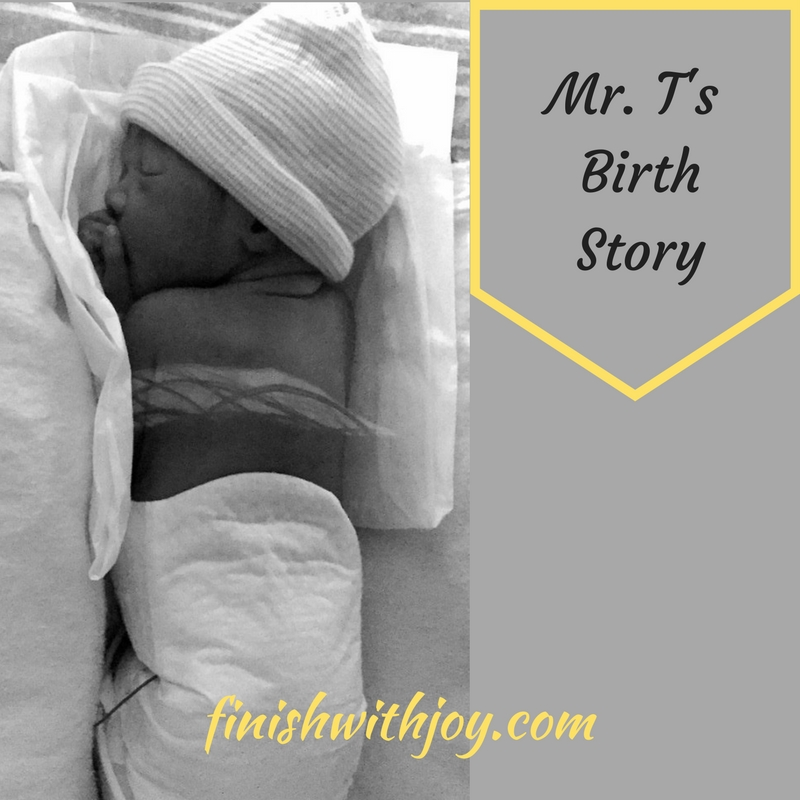 Thaddeus' birth story
