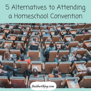 5 Alternatives to Homeschool Conventions
