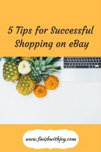 5 Tips for Successful Shopping on eBay